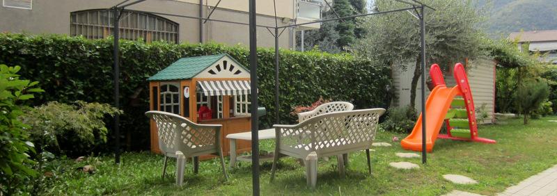 SAREZZO (BS) – Trilocale con giardino e box auto
