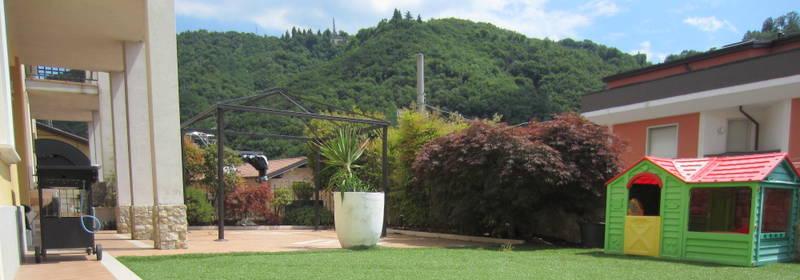 LUMEZZANE (BS) – Quadrilocale con giardino e box auto
